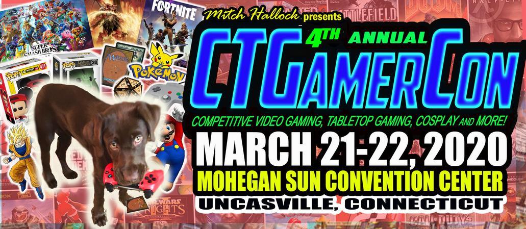 Mitch Hallock Presents 4th Annual CTGamerCon